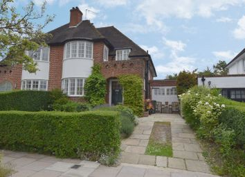 Thumbnail 4 bed semi-detached house to rent in Hill Rise, Hampstead Garden Suburb