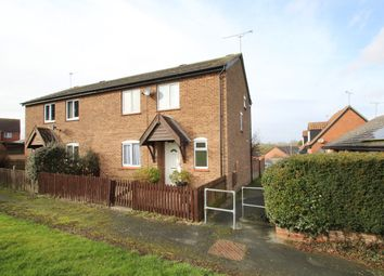 Thumbnail 3 bed semi-detached house for sale in Normandy Close, Stowmarket