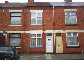Thumbnail 3 bed terraced house to rent in Browning Street, West End, Leicester
