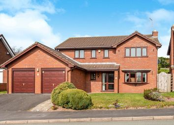 Thumbnail 5 bed detached house for sale in Queen Margarets Road, Loggerheads, Market Drayton