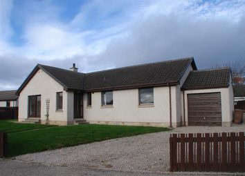 Thumbnail 4 bed detached bungalow for sale in St Peters Road, Duffus, Moray