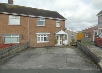 Thumbnail 3 bed semi-detached house for sale in Bryncoch, Bryn, Llanelli