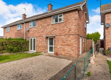 Thumbnail 3 bed semi-detached house for sale in Crescent Close, Whittlesey, Peterborough