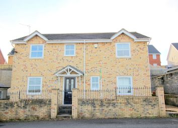 Thumbnail 4 bed detached house for sale in Cefn Glas Road, Bridgend, Bridgend.