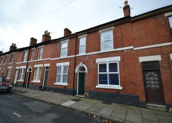 Thumbnail 4 bedroom terraced house to rent in Harcourt Street, Derby