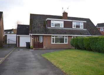 Thumbnail 3 bed semi-detached house for sale in Milton Drive, Market Drayton