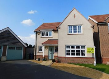 Thumbnail 4 bed detached house for sale in Moss Close, Stafford