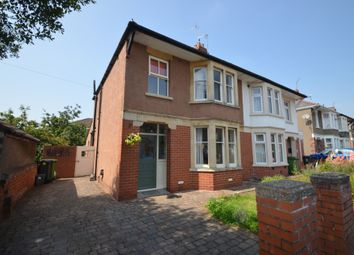 Thumbnail 3 bed semi-detached house for sale in Coed Glas Road, Llanishen, Cardiff