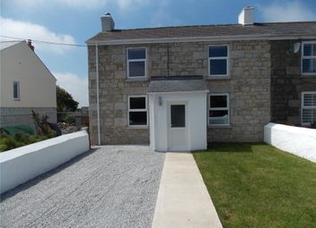 Thumbnail 4 bed end terrace house for sale in Loscombe Road, Four Lanes, Redruth