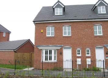 Thumbnail 4 bed town house for sale in Abberley Grove, Stafford