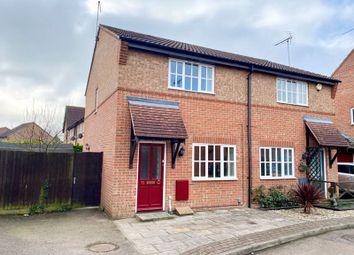 Thumbnail 2 bed semi-detached house for sale in Coalport Close, Newhall, Harlow