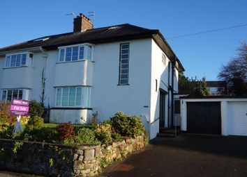 Thumbnail 3 bed semi-detached house for sale in Llys Meirion, Caernarfon