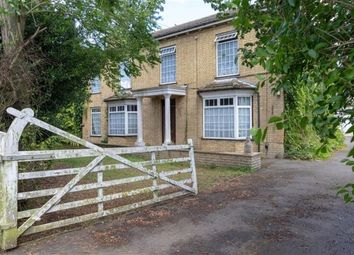 Thumbnail 7 bed detached house for sale in Straight Drove, Farcet, Peterborough