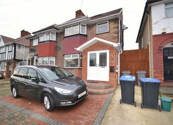 Thumbnail 4 bed semi-detached house for sale in Tudor Court North, Wembley, Greater London