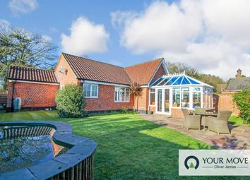 Thumbnail 3 bed bungalow for sale in New Road, Fritton, Great Yarmouth