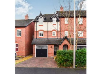 Thumbnail 4 bed town house for sale in Hastings Road, Nantwich