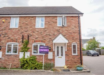 Thumbnail 3 bed semi-detached house for sale in Princess Close, Flitwick