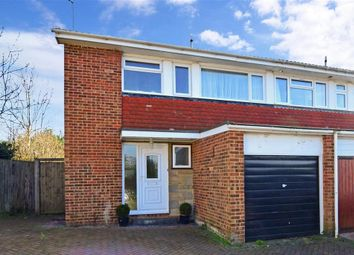 Thumbnail 3 bed semi-detached house for sale in Merton Road, Bearsted, Maidstone, Kent