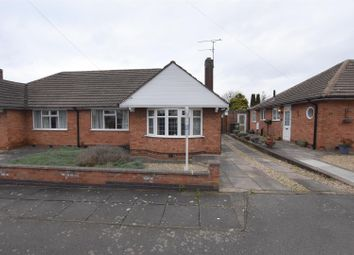 Thumbnail 2 bed bungalow for sale in Foxhunter Drive, Oadby, Leicester