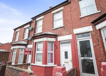 Thumbnail 3 bedroom terraced house for sale in Spencer Road, Luton, Bedfordshire