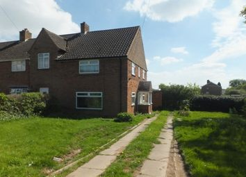 Thumbnail 3 bed end terrace house to rent in Falcon Lodge Crescent, Sutton Coldfield