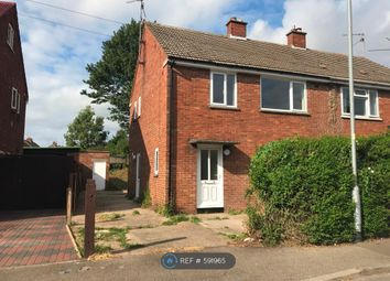 Thumbnail 3 bedroom semi-detached house to rent in Lady Jane Grey Road, King's Lynn