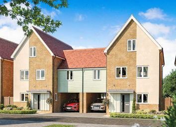 Thumbnail 4 bedroom link-detached house for sale in Thorpe Road, Longthorpe, Peterborough