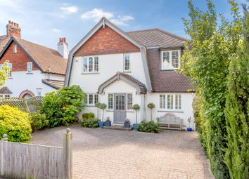 Thumbnail 4 bed detached house for sale in Leigh Road, Cobham