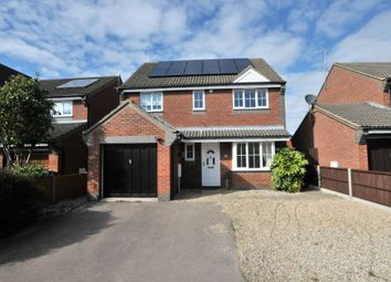 Thumbnail 4 bed detached house to rent in The Causeway, Bassingbourn, Royston