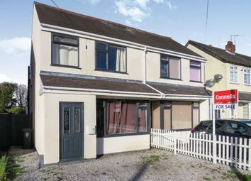 Thumbnail 3 bedroom semi-detached house for sale in Humberstone Lane, Thurmaston, Leicester