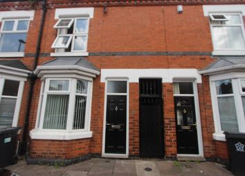 Thumbnail 3 bed terraced house to rent in Richmond Road, Leicester