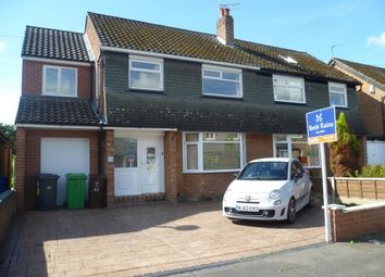 Thumbnail 4 bed semi-detached house to rent in Bankside Road, Didsbury, Manchester