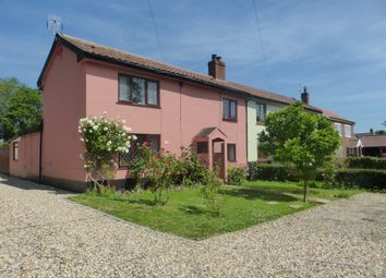 Thumbnail 3 bedroom semi-detached house for sale in Long Street, Great Ellingham, Attleborough