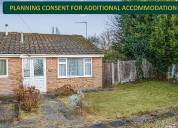 Thumbnail 1 bed bungalow for sale in Ogwen Close, Evington, Leicester