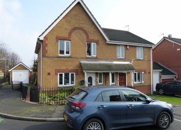 Thumbnail 3 bed semi-detached house for sale in St Helens Avenue, Tipton, West Midlands