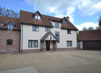 Thumbnail 7 bed detached house to rent in Richer Road, Badwell Ash, Bury St. Edmunds
