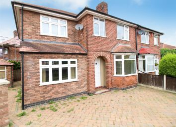 Thumbnail 4 bedroom semi-detached house for sale in East Crescent, Beeston, Nottingham