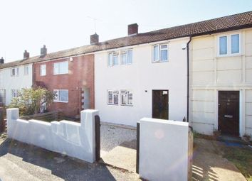 Thumbnail 3 bed terraced house to rent in Stapleford Gardens, Collier Row, Romford