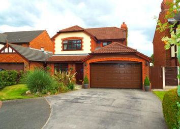 Thumbnail 4 bed detached house for sale in Farndale Close, Whittle Hall, Warrington, Cheshire