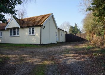 Thumbnail 2 bedroom detached bungalow for sale in Abbey Road, Leiston
