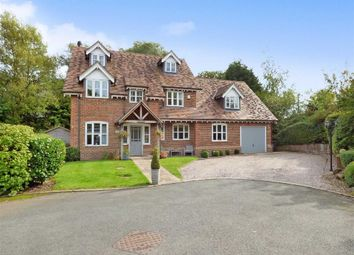 Thumbnail 5 bedroom detached house for sale in Mallard Close, Madeley, Crewe