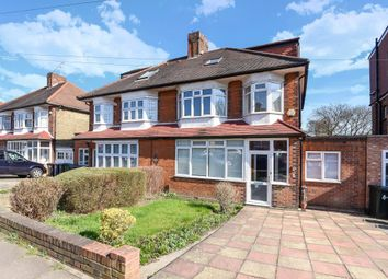 Thumbnail 4 bed semi-detached house to rent in Chanctonbury Way N12,