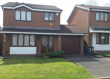 Thumbnail 3 bed detached house to rent in Ullswater Close, Priorslee, Telford