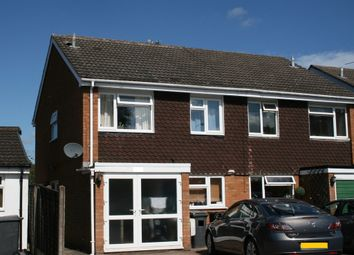 Thumbnail 3 bed semi-detached house to rent in Victoria Road, Bradmore, Wolverhampton