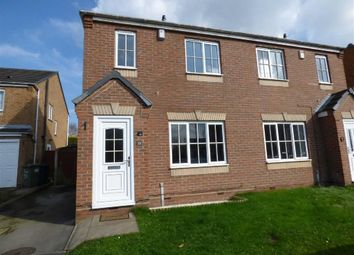 Thumbnail 3 bed semi-detached house to rent in Fremantle Drive, Cannock, Staffordshire