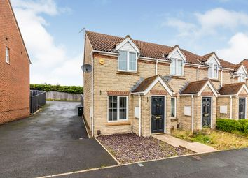Thumbnail 2 bed end terrace house for sale in Chestnut Crescent, Barnsley, South Yorkshire