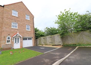 Thumbnail 4 bed semi-detached house for sale in Saunders Close, Caistor, Market Rasen