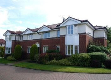 Thumbnail 2 bed flat to rent in Hazeldean Court, Off Deanlow Road, Wilmslow, Cheshire
