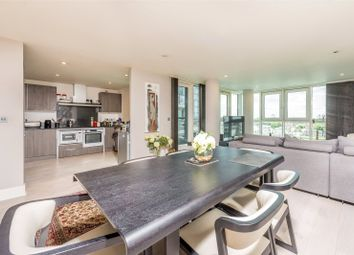 Thumbnail 3 bed flat for sale in Jellicoe House, St George Wharf, Vauxhall, London