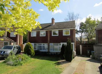 Thumbnail 3 bed detached house for sale in Woodthorpe Gardens, Sarisbury Green, Southampton